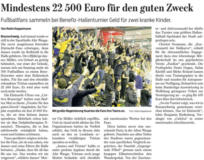 Braunschweiger Zeitung, 26.01.2015